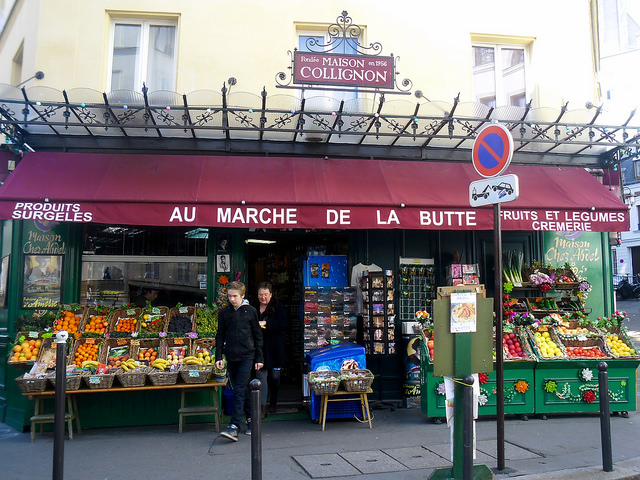 La Maison Collignon grocer in Montmartre, from the movie Amélie